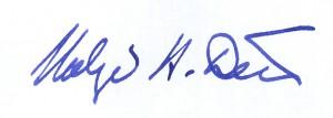Unterschrift Dux